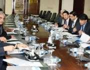 اسلامآباد، وزیر خزانہ سینیٹر اسحاق ڈار پرائیویٹائزیشن سے متعلق اعلی ..