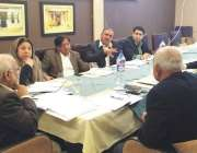 لاہور، تحریک انصاف پنجاب کے صدر اعجاز چوہدری پولیٹیکل بورڈ کے اجلاس ..