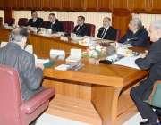 اسلامآباد، چیف جسٹس آف پاکستان جسٹس ناصر الملک جوڈیشل کمیشن کے اجلاس ..