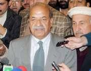 پشاور، گورنر خیبرپختونخوا سردار مہتاب احمد عباسی آئی ڈی پیز کی واپسی ..