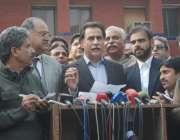لاہور، سپیکر قومی اسمبلی سردار ایاز صادق این اے 122 دھاندلی کیس میں الیکشن ..
