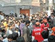 لاہور، دھرمپورہ میں خاوند کے ہاتھوں قتل ہونے والی یاسمین اور خودکشی ..