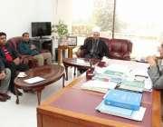 اسلام آباد، مسلم لیگ کے سینئر نائب صدر چوہدری امتیاز رانجھا کی زیر ..