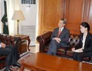 اسلامآباد، مشیر خارجہ سرتاج عزیز سے چینی وزیر خارجہ وانگ ژی ملاقات ..