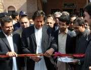 پشاور، تحریک انصاف کے چئیرمین عمران خان صحت کا اتحاد پروگرام کا افتتاح ..
