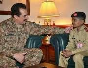 کراچی، آرمی چیف جنرل راحیل شریف ایک دن کیلئے پاک فوج میں شامل ہونے والے ..