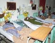 لاہور، پولیس لائنز خودکش حملے کے زخمی میو ہسپتال میں زیر علاج ہیں۔