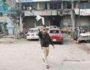 لاہور، پولیس لائنز کے قریب ہونے والے خودکش دھماکے کے دوسرے روز پولیس ..