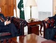 اسلام آباد، وزیراعظم کے مشیر برائے خارجہ اُمور، قومی سلامتی سرتاج ..