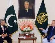 اسلام آباد، وزیراعظم نواز شریف سے بھارتی سیکرٹری خارجہ سبرامینیم جے ..