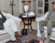 اسلام آباد، وزیر داخلہ چوہدری نثار علی خان سے ڈائریکٹر جنرل سکاؤٹس ..