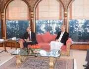اسلام آباد، مشترکہ مفادات کونسل کے اجلاس سے قبل وزرائے اعلی پنجاب ، ..