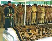 ژوب، آپریشن خیبر ٹو میں شہید ہونے والے فوجی جوان کی نماز جنازہ ادا کی ..