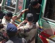 کراچی، متحدہ قومی موومنٹ کے مرکز نائن زیرو سے گرفتار افراد کو انسداد ..