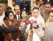 فیصل آباد : سول ہسپتال میں ڈی کئیر سنٹر کے افتتاح کے بعد وزیر برائے خواتین ..