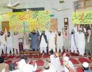 فیصل آباد: تحفظ حرمین الشریفین سیمینار میں علماء یکجہتی کا اظہار کر ..
