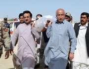 کوئٹہ، وزیراعلی بلوچستان عبدالمالک بلوچ سانحہ تربت میں جاں بحق ہونے ..