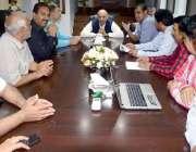 لاہور: تحریک انصاف کی کور کمیٹی کے رکن اور سابق گورنر پنجاب چوہدری محمد ..