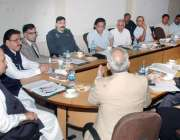 لاہور: صوبائی وزیر انڈسٹری چوہدری محمد شفیق پاکستان کی برآمداد کا جائزہ ..