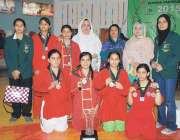 پشاور: انٹر ریجنل ویمن و وشوگیمز کے موقع پر فاتح کھلاڑیوں کا مہمان خصوصی ..