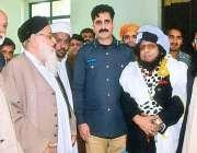 اسلام آباد: علامہ سید اظہار بخاری ، سی پی او اسرار احمد اور امن کمیٹی ..