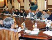 لاہور: صوبائی وزیر زراعت ڈاکٹر فرخ جاوید کابینہ کمیٹی برائے زرعی ریفارمز ..