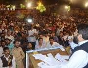 راولپنڈی: وارڈ نمبر چار کینٹ مسلم لیگ (ن) کے نامزد امیدوار رشید خان انتخابی ..