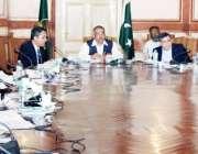 لاہور: صوبائی وزیر ہاؤسنگ ملک تنویر اسلم اعوان آگ سے بچاؤ کے حفاظتی ..