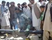 کوئٹہ: ایم پی اے اور پشتونخوا ملی عوامی پارٹی کے رہنماء منظور خان کاکڑنواں ..