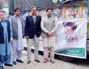 پشاور: صوبائی وزیر داخلہ کرنل (ر) شجاع خانزادہ حکومت پنجاب کی طرف سے ..