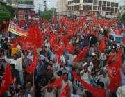 لاہور: لیبر ویلفئیر آرگنائزیشن کے زیر اہتمام مزدوروں کے عالمی دن کے ..