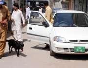 راولپنڈی: آصف علی زرداری کی پیشی کے موقع پرسکیورٹی اداروں کے اہلکار ..