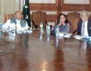 لاہور: صوبائی وزیر خزانہ ، قانون مجتبیٰ شجاع الرحمن ریسورس موبلائزیشن ..