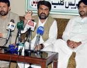 کوئٹہ: بلوچستان سپورٹس پروموٹر آلائنس کے صدر کمانڈر فضل محمد نورزئی ..