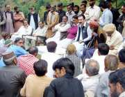 حویلی: آزاد کشمیر وزیر برقیات راجہ فیصل ممتاز راٹھور کھلی کچہری میں ..