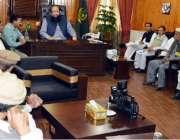 گلگت: نگران وزیر اعلیٰ گلگت بلتستان شیر جہان میر کنزرویشن کے حوالے ..