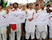 پشاور: پختونخوا سٹوڈنٹس آرگنائزیشن زیر اہتمام 12مئی کے حوالے سے کارکن ..