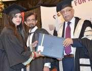 لاہور: پنجاب یونیورسٹی کے وائس چانسلر، ڈاکٹر مجاہد کامران لا کالج کے ..
