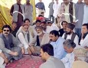 کوئٹہ: رکن صوبائی اسمبلی منظور احمد خان کاکڑ بروری میں عوام کے مسائل ..