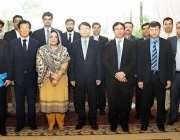 اسلام آباد: وزیرمملکت انوشہ رحمان کا کورین ایگزم بینک کے وفد کے ہمراہ ..