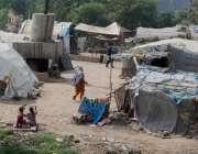لاہور: صوبائی اور ضلعی محکموں کی غفلت کے باعث خانہ بدوشوں نے دریائے ..