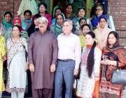 لاہور: ایک ماہ کے تربیتی کورس پر جانے والے نرسنگ انسٹرکٹرز کا مشیر وزیر ..