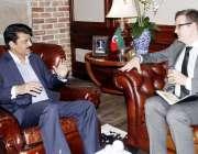 اسلام آباد: آسٹریلین گورنمنٹ کے جنوبی ایشاء کے نمائندے ڈیوڈ وائیں کے ..
