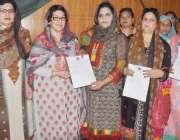 قصور: مسلم لیگ (ن) شعبہ خواتین کی صدر نزہت عامرصادق کونسل ہال میں صفیہ ..