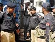 راولپنڈی: منٹی لانڈرنگ کیس میں گرفتار ماڈل ایان علی کو عدالت پیشی کے ..