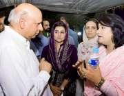 لاہور: تحریک انصاف پنجاب کے آرگنائزر چوہدری سرور رکن پنجاب اسمبلی نوشن ..