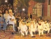 لاہور: تحریک حق دعوت پاکستان کے زیر اہتمام سرکلر راوی روڈ پر جشن ختم ..