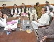 کوئٹہ: ڈپٹی مئیر کوئٹہ محمد یونس بلوچ سے انجمن تاجران بلوچستان کے صدر ..