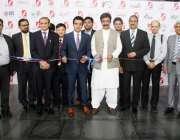 "لاہور: وزیر معدنیا ت چوہدری شیر علی خان انٹر نیشنل انرجی نمائش ""ایگو .."