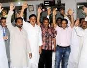 راولپنڈی: اپکا محکمہ ایکسائز اینڈ ٹیکسیشن کے ملازمین اسلام آباد اپکا ..